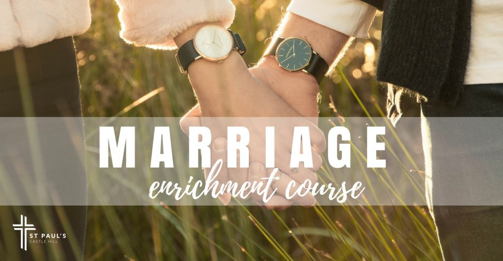 Marriage Enrichment Course